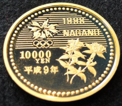 1万円プルーフ金貨