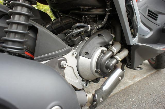 イタリア ジレラ エンジン部分 ST200