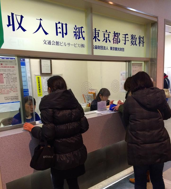 金券ショップ江東区 収入印紙
